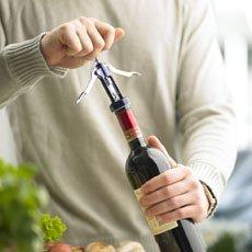 Ending opinna flaskna